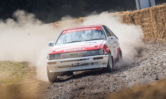 2019 Goodwood Festival of Speed rally