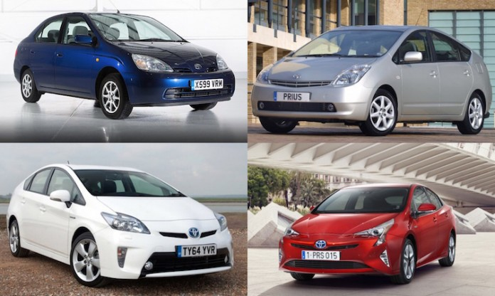 Toyota Prius montage