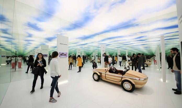 Toyota Setsuna at Milan Design Week