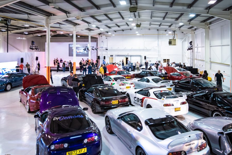 Five generations of Toyota Supra meet at a special event organised by Toyota GB