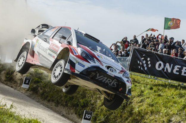 Esapekka Lappi Rally Portugal Debut