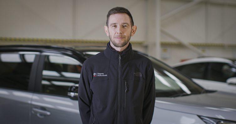 Toyota GB's Ben Murphy