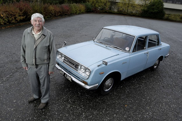 """Dave Clarke, 1967 RT40 Corona: """"When I first got it I had a lot of trouble from my mates at work, they used to call it the Japanese tin trumpet."""""""