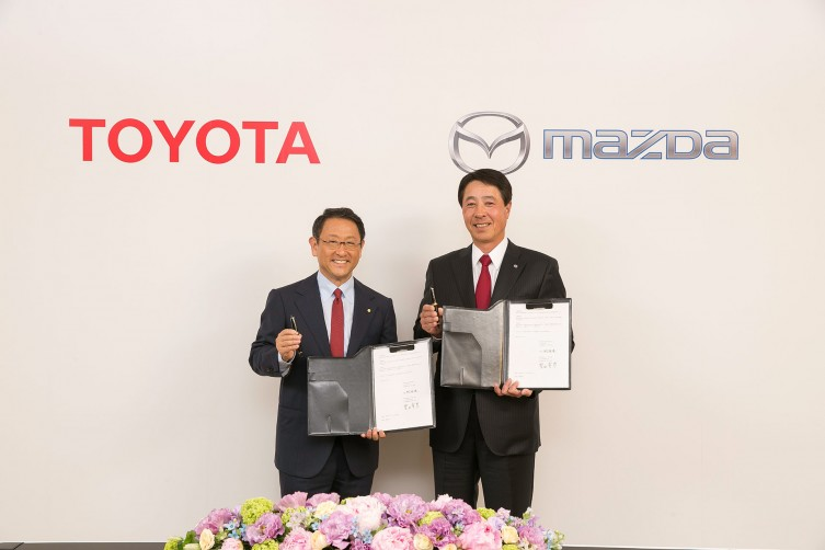Toyota Mazda partnership