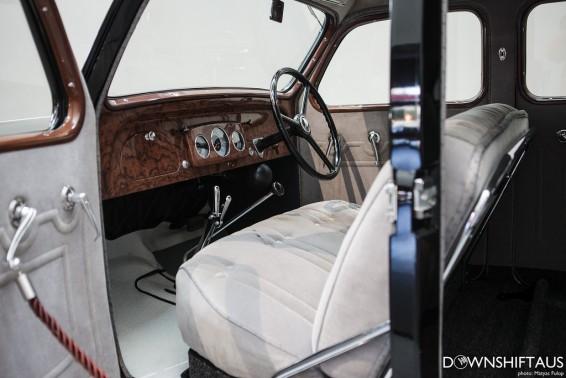 Toyota Model AA interior