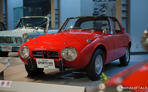 Toyota sports 800 Japan museum