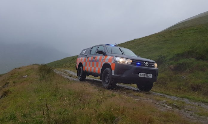 Mountain Rescue Hilux
