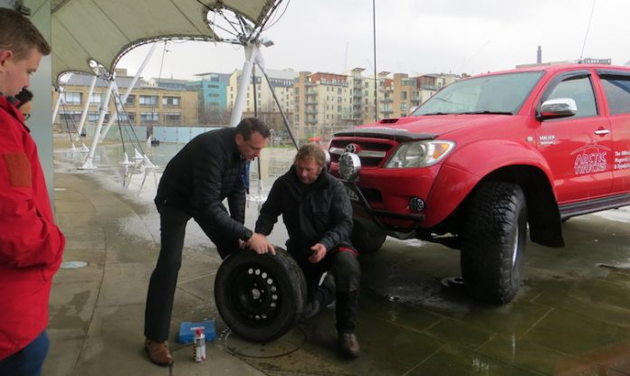 World Extreme Medicine Hilux Tyres