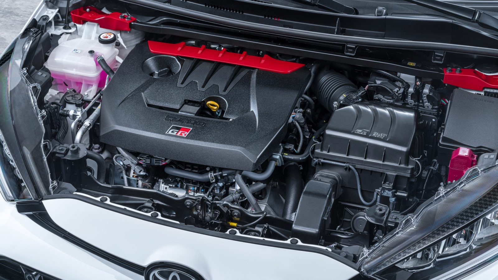 Toyota G16E-GTS engine in the GR Yaris