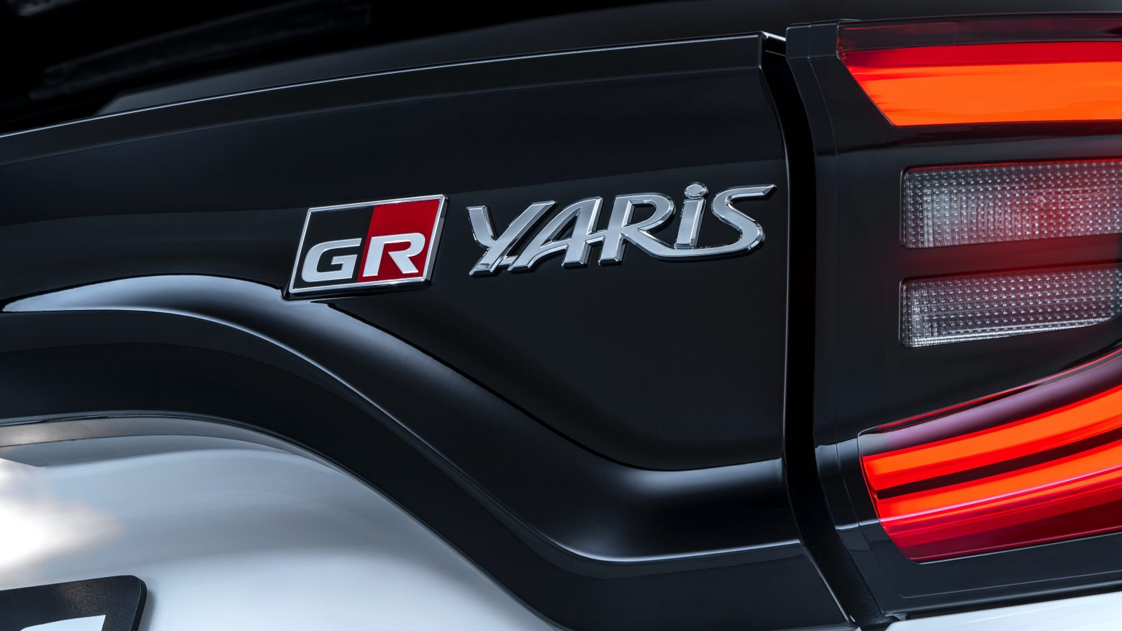 GR Yaris badge