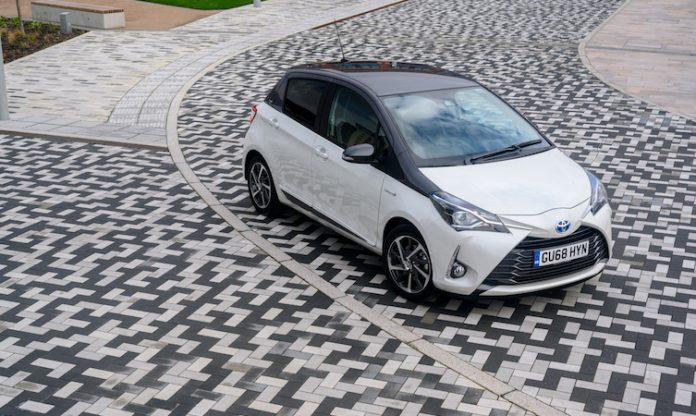 Toyota names of models Yaris