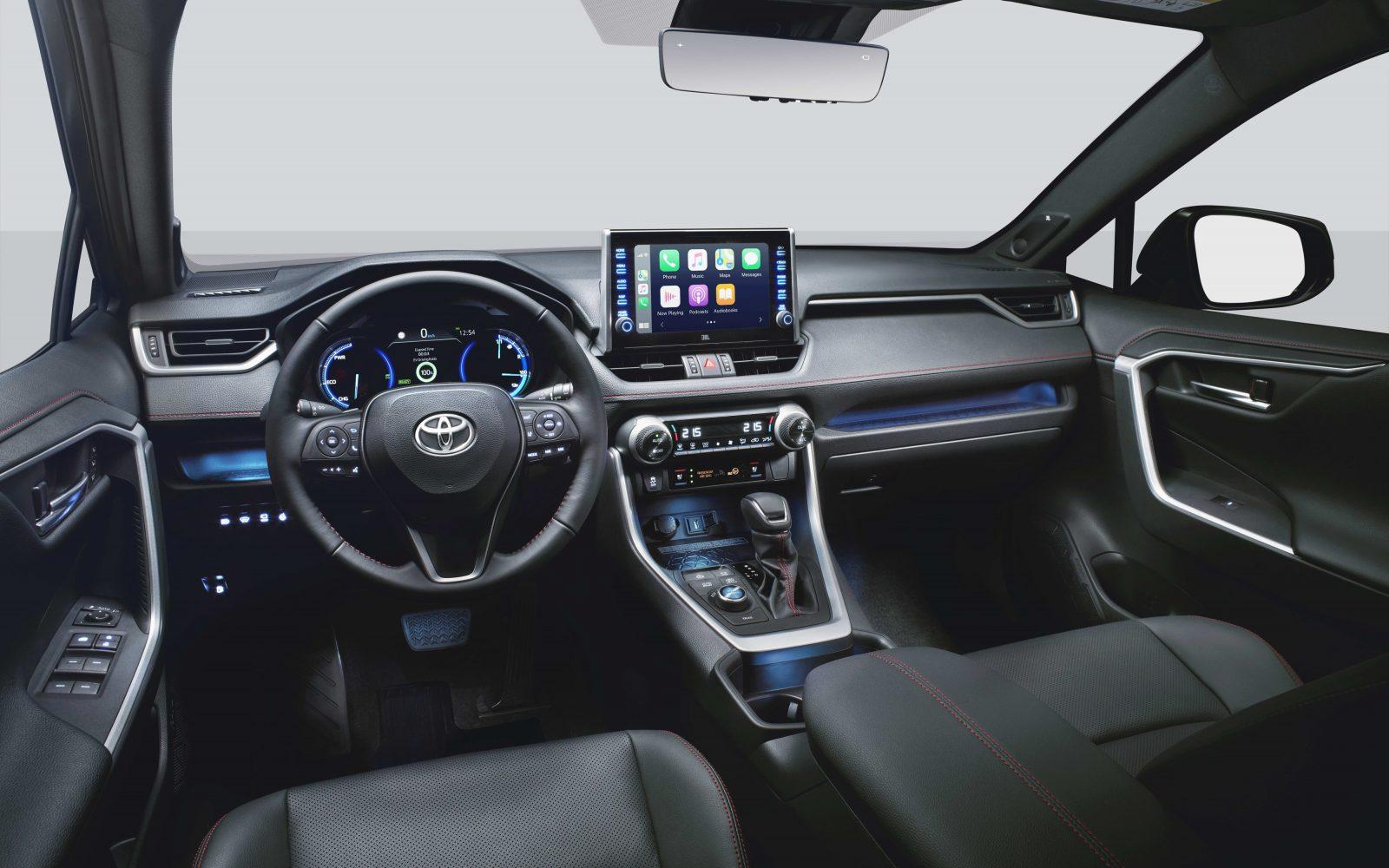 Toyota RAV4 Plug-in Hybrid - interior view (left-hand-drive)