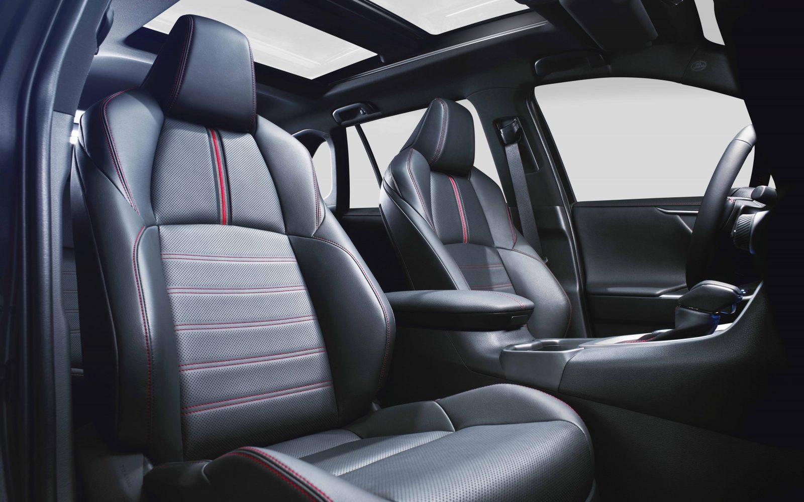 Toyota RAV4 Plug-in Hybrid interior - front seats