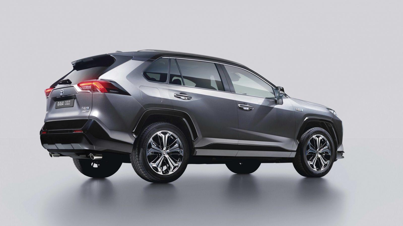 Toyota RAV4 Plug-in Hybrid - rear three-quarter angle