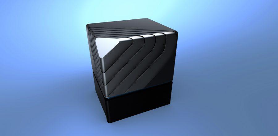 Hydrogen fuel cell module vertical