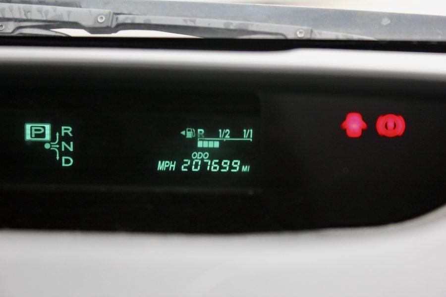 Used Prius odometer