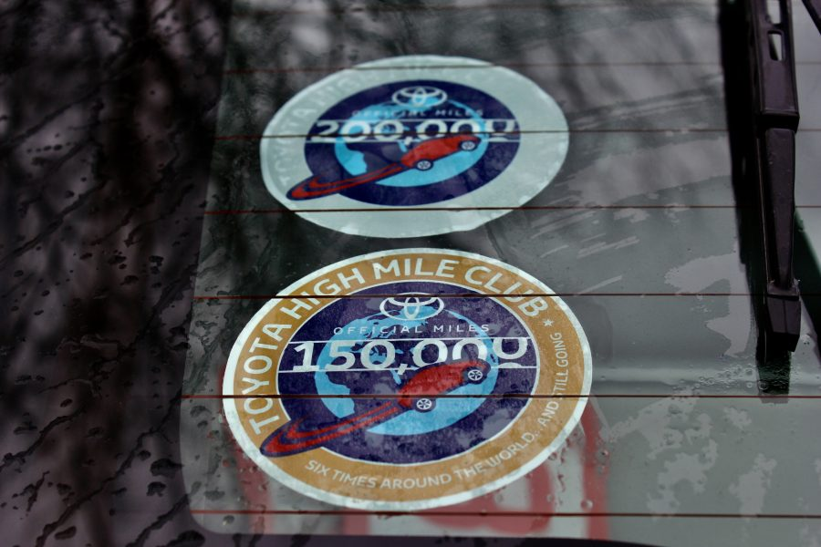 High Mile Stickers