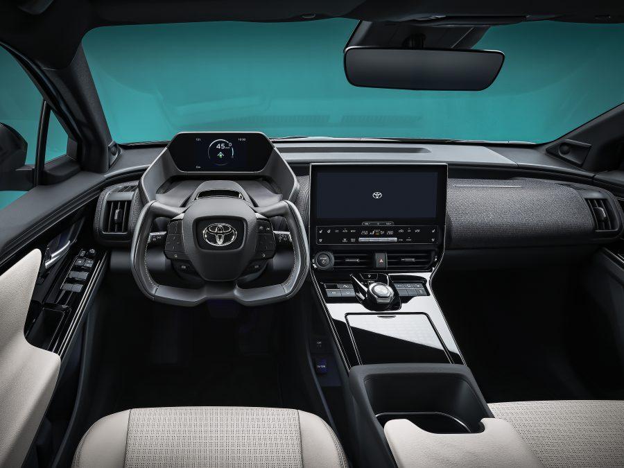 bZ4X Concept cabin
