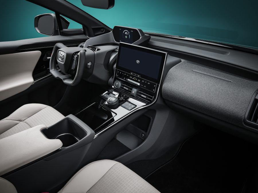 bZ4X Concept interior