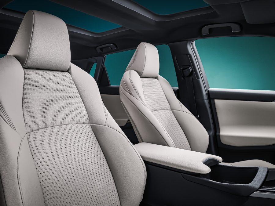 bZ4X Concept front seats