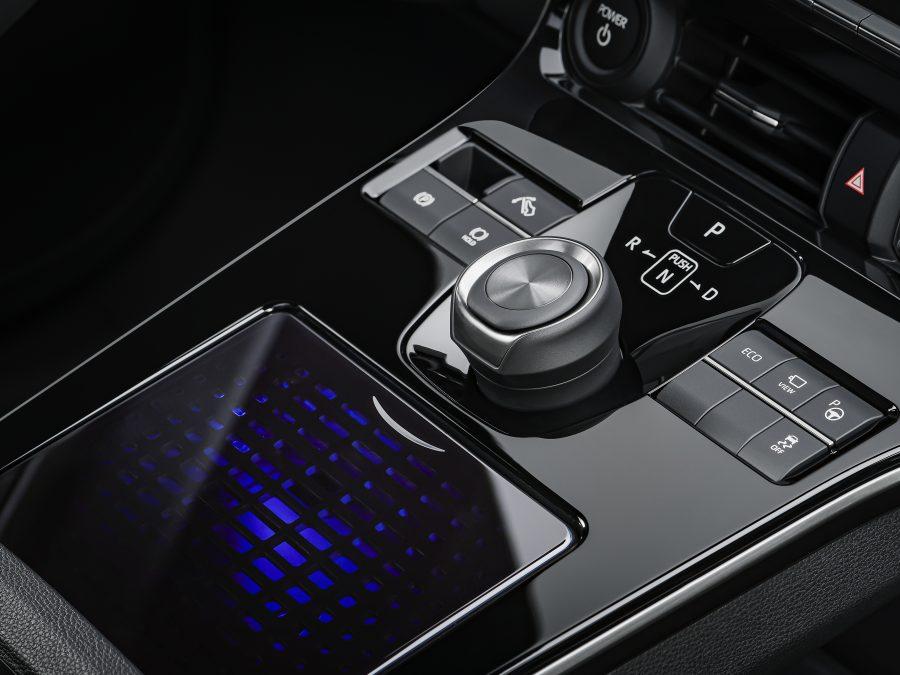 bZ4X Concept centre console