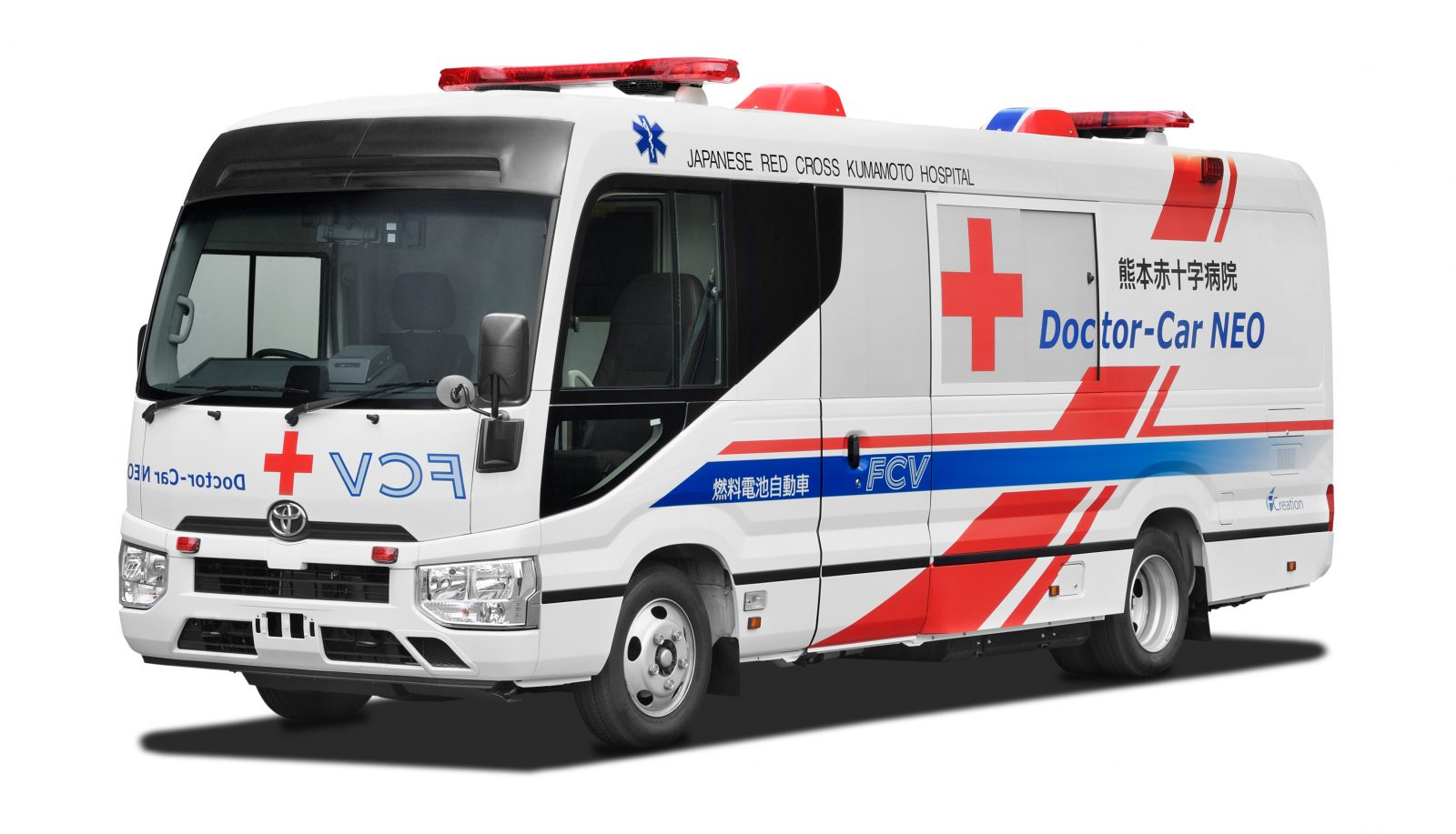 FCEV mobile clinic