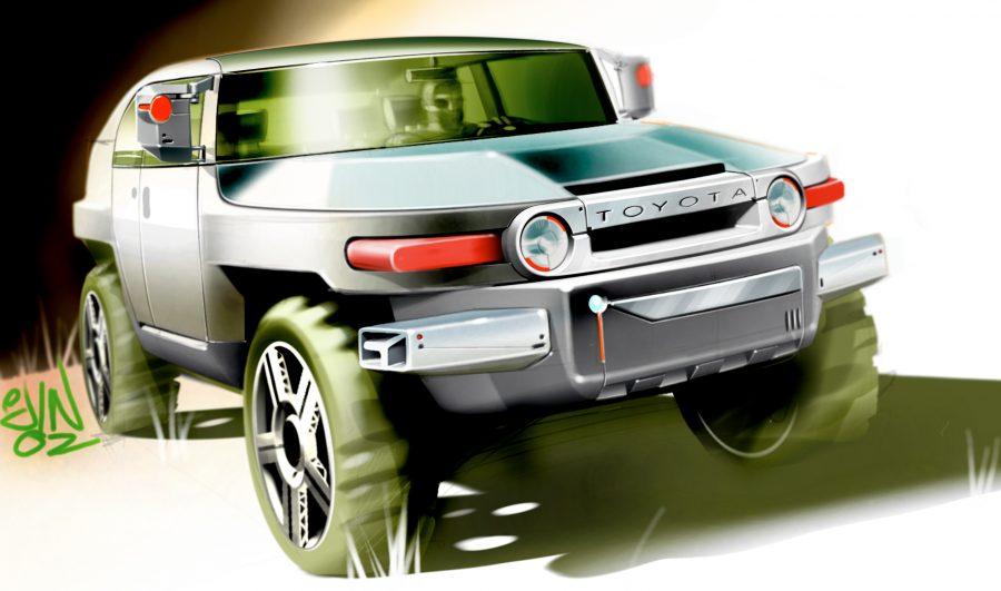 FJ Cruiser Concept Sketch 2003