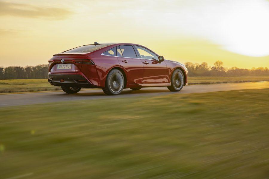 Revisión del Toyota Mirai 2021