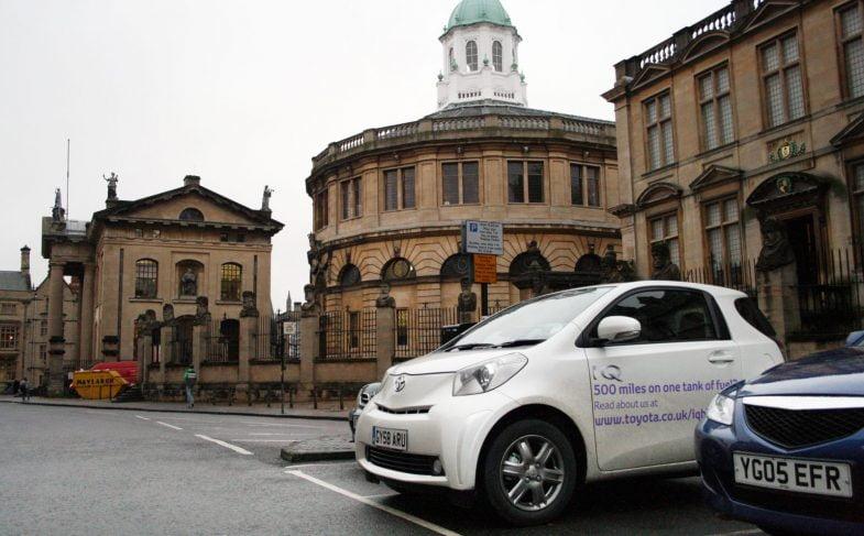 Toyota iQ fuel economy