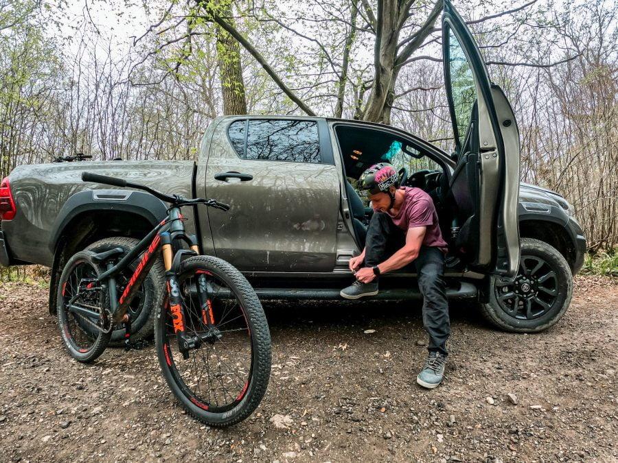 Toyota Hilux GoPro