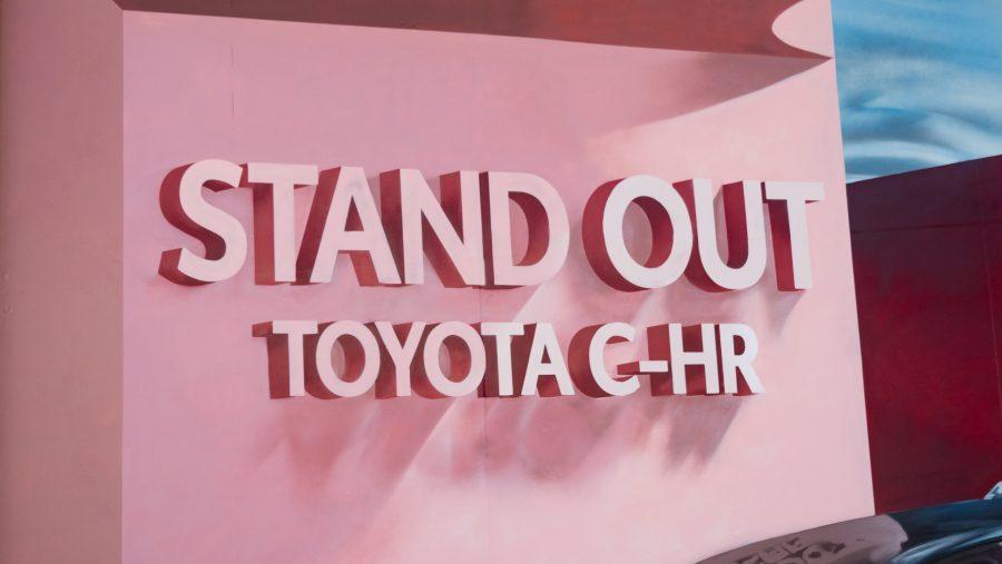 Ilustraciones de Toyota C-HR