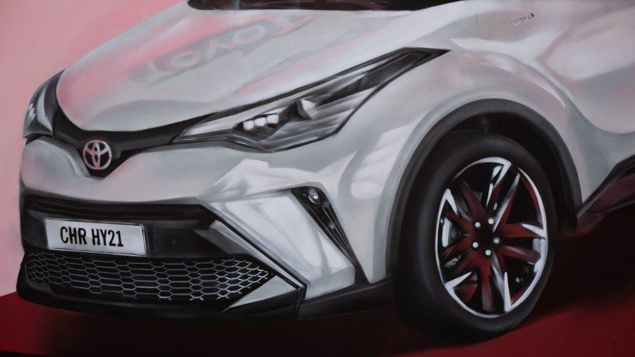 Toyota C-HR Mural