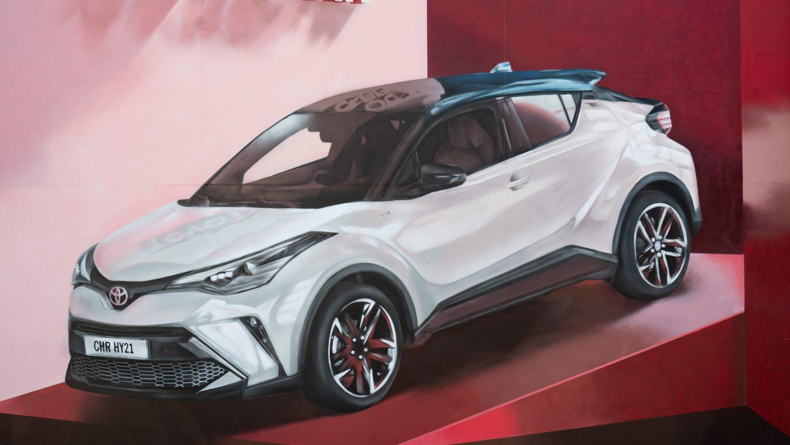 Toyota C-HR artwork
