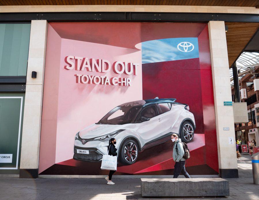Toyota Mural