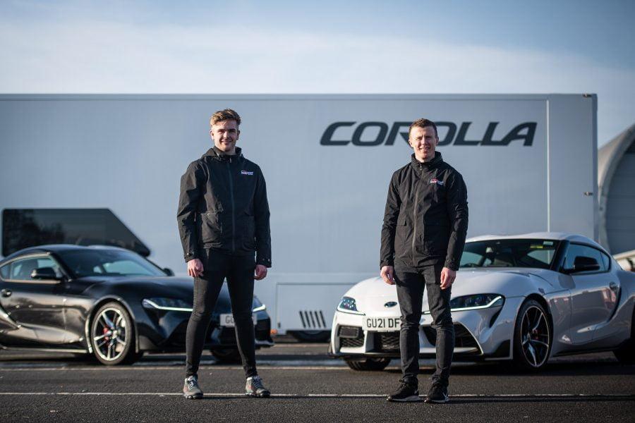 2021 Toyota BTCC drivers - GR Supra