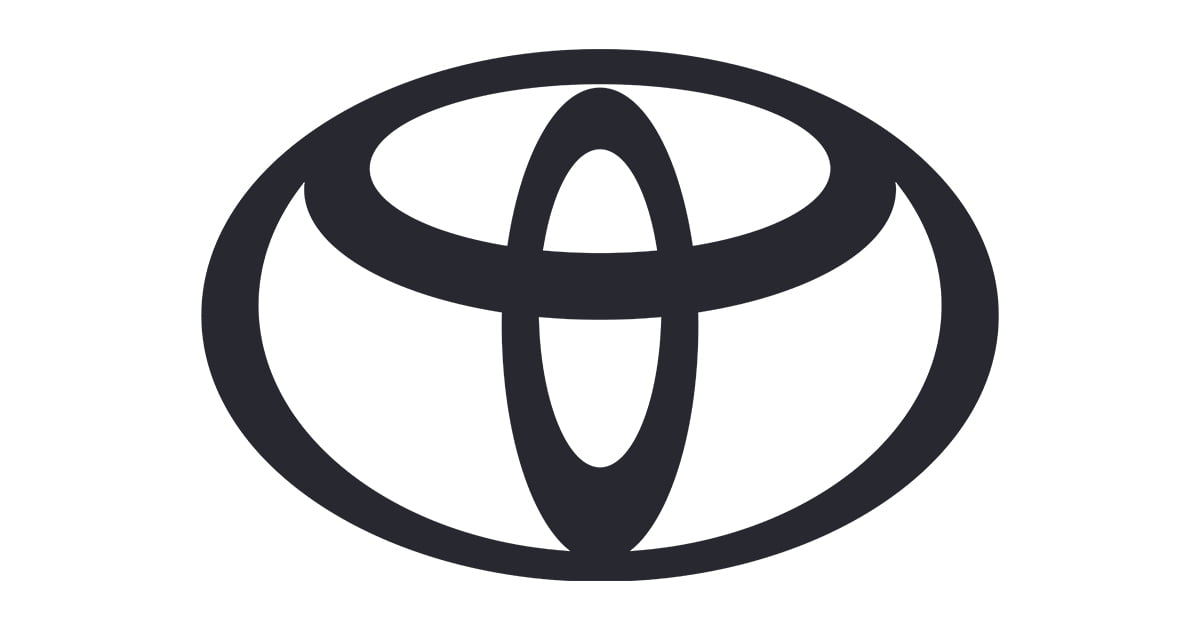 Updated Toyota brand logo