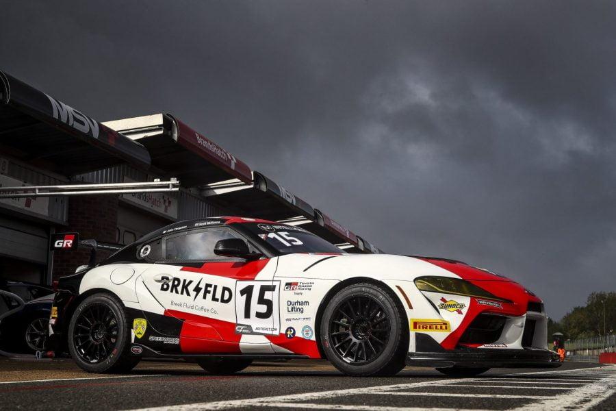 Scott McKenna GR Supra GT4