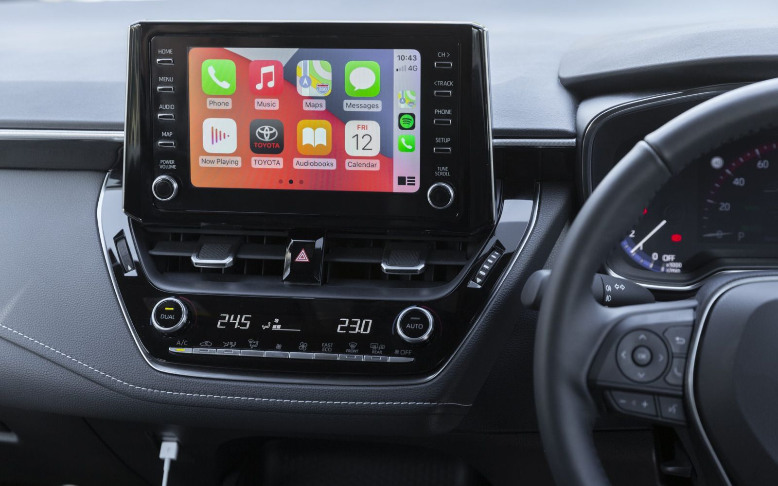 Toyota Apple Carplay