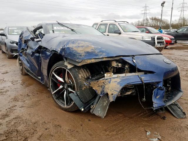 Damaged GR Supra