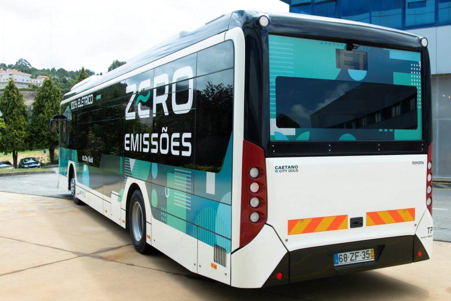 Caetano electric bus