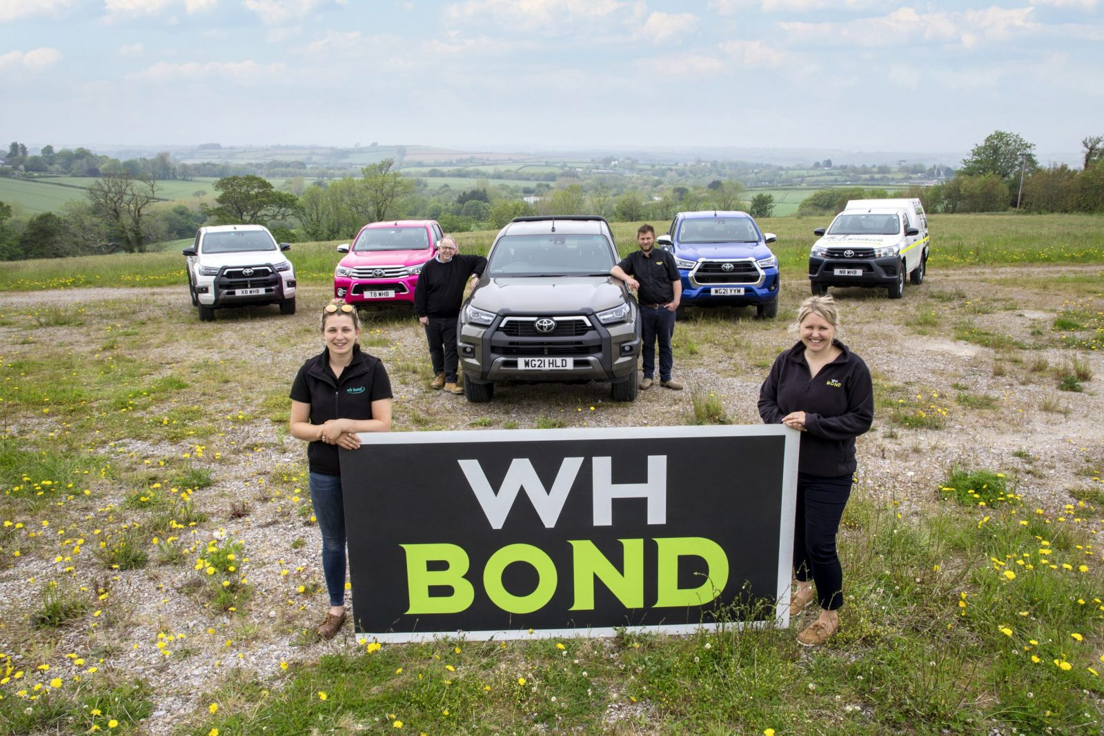 WH Bond and Sons Hilux