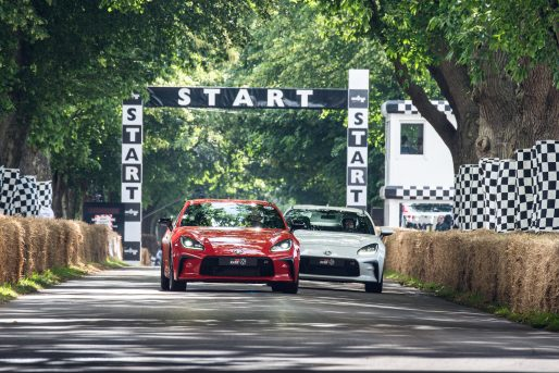 GR86 at Goodwood Festival of Speed 2021