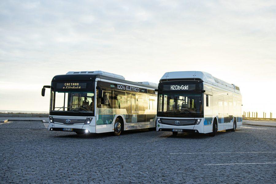 Zero-emissions buses