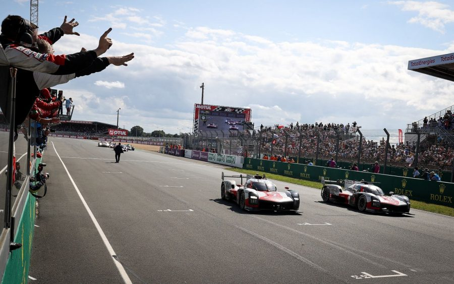 Toyota at Le Mans 2021