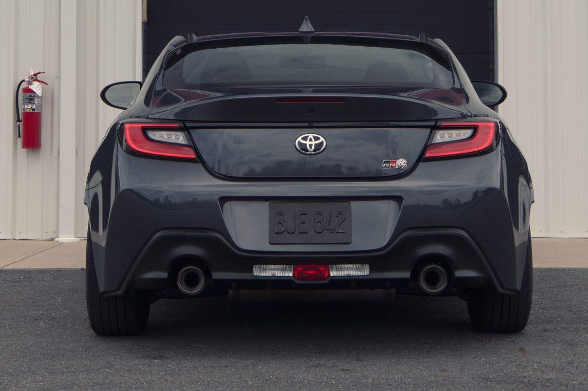 Toyota GR 86 design