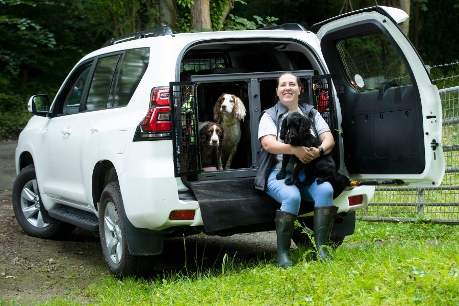 Paws for Conservation - Land Cruiser